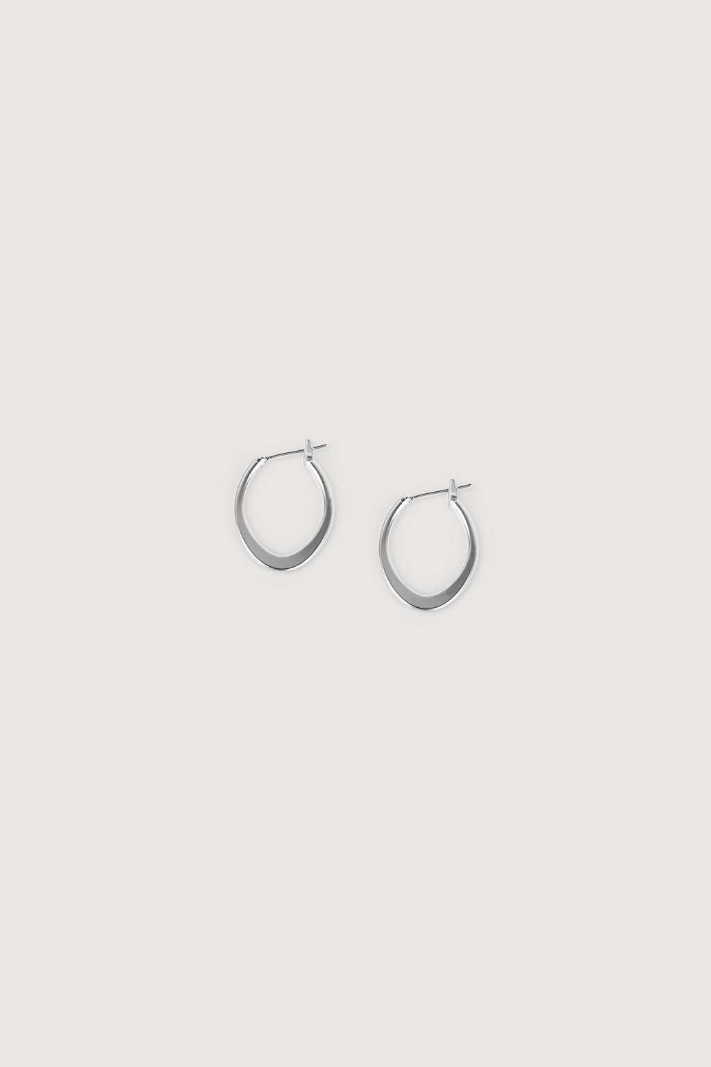 Earring H252 Silver 2