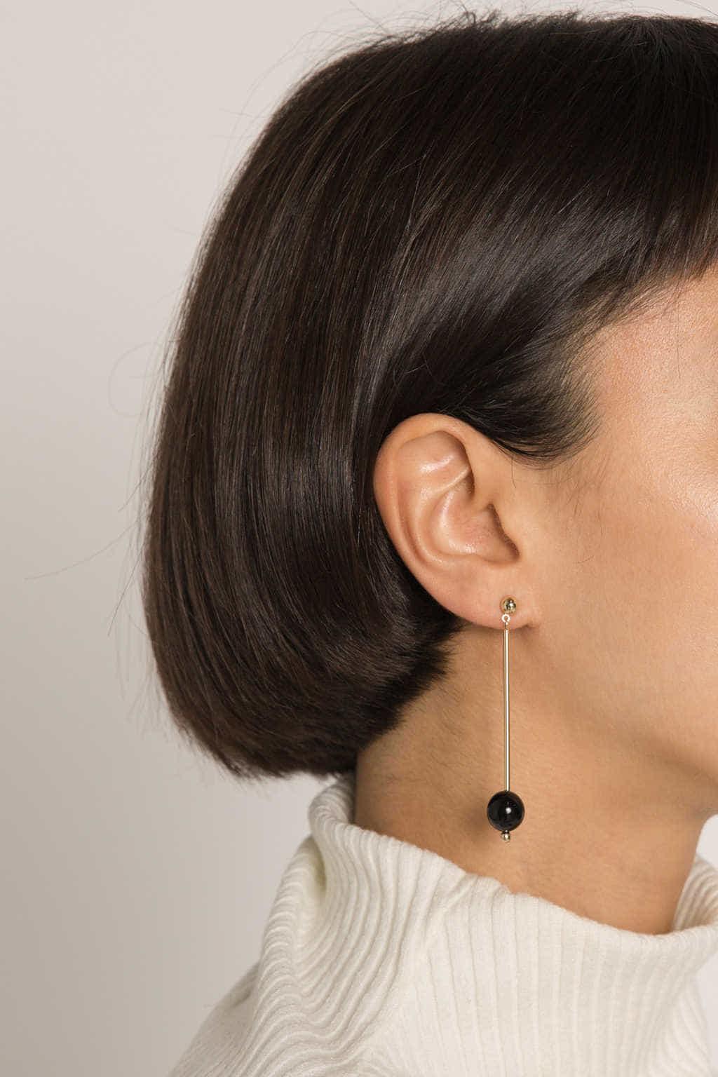 Earring H258 Gold 2