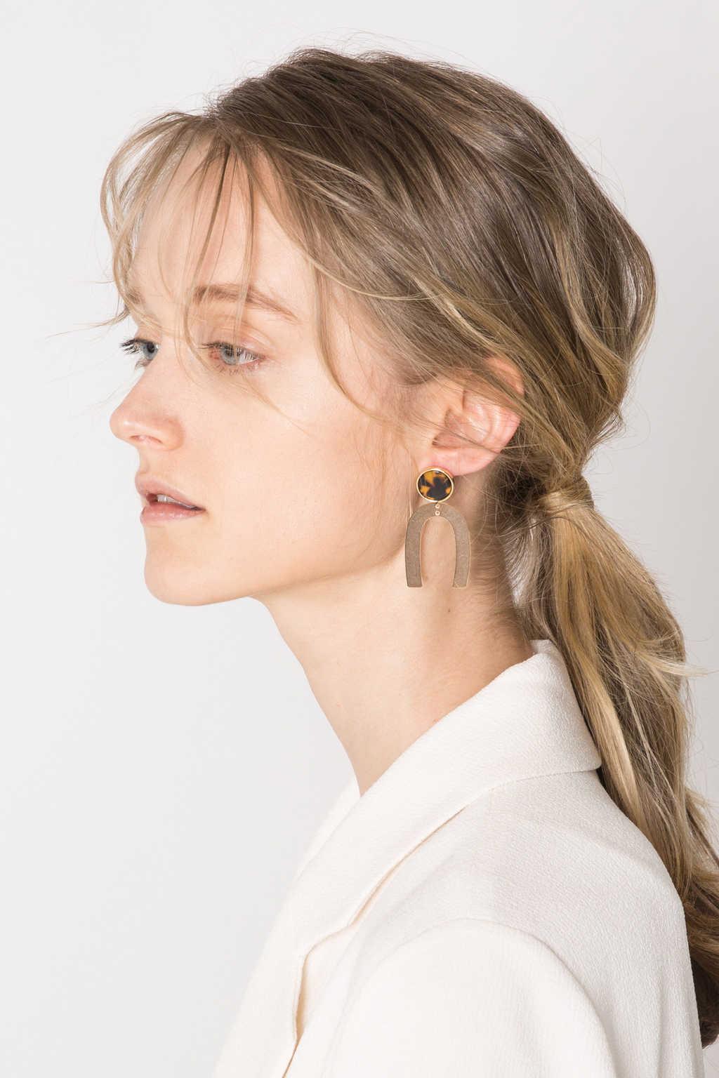 Earring H304 Gold 2