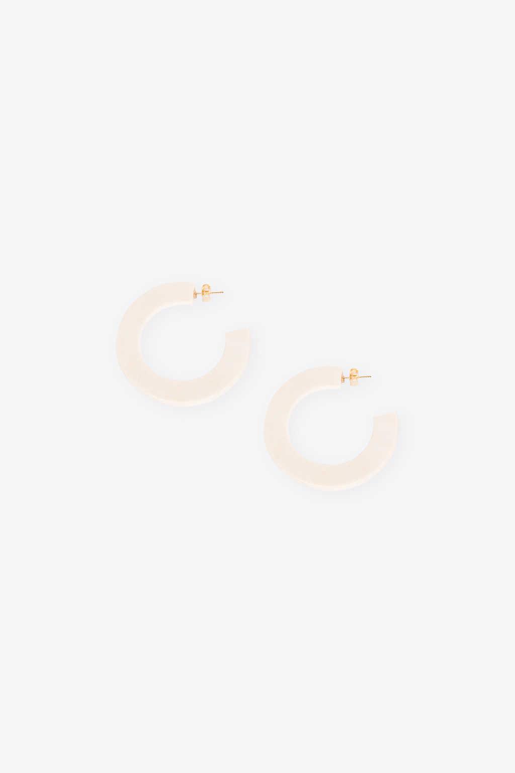 Earring H376 Cream 2