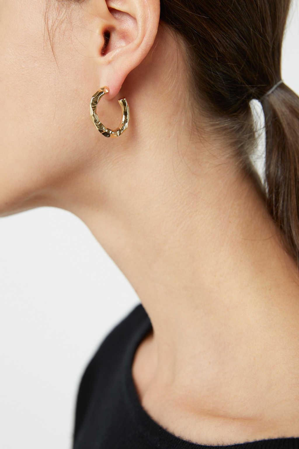 Earring H409 Gold 3