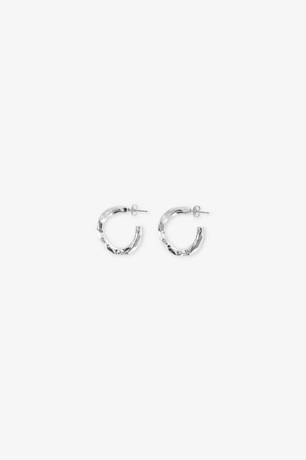 Earring H409 Silver 2