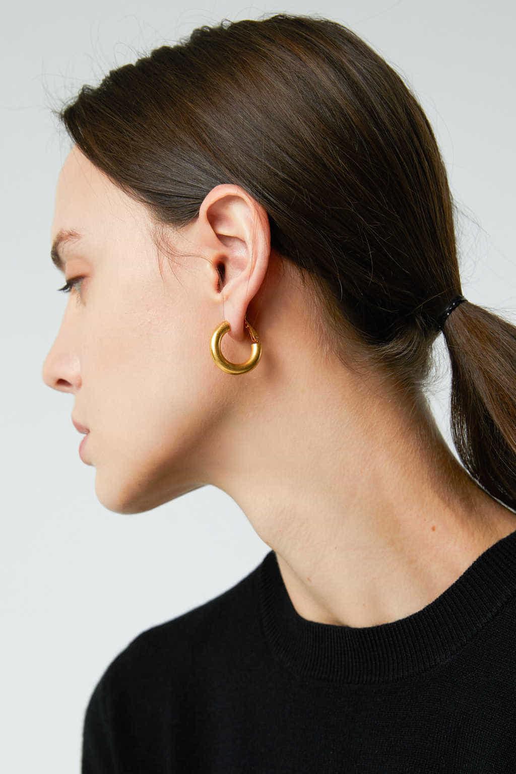 Earring J021 Gold 2