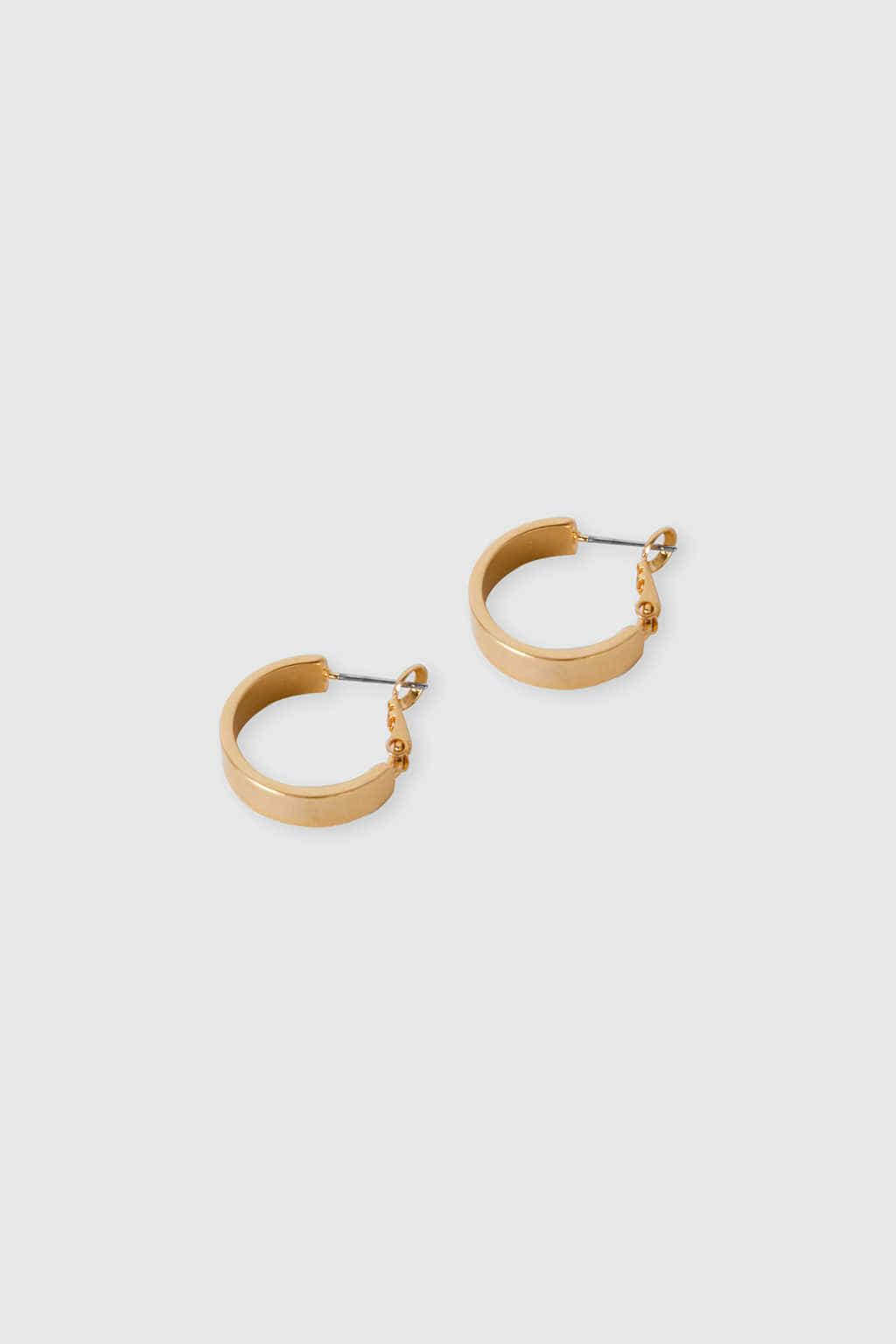 Earring J025 Gold 2