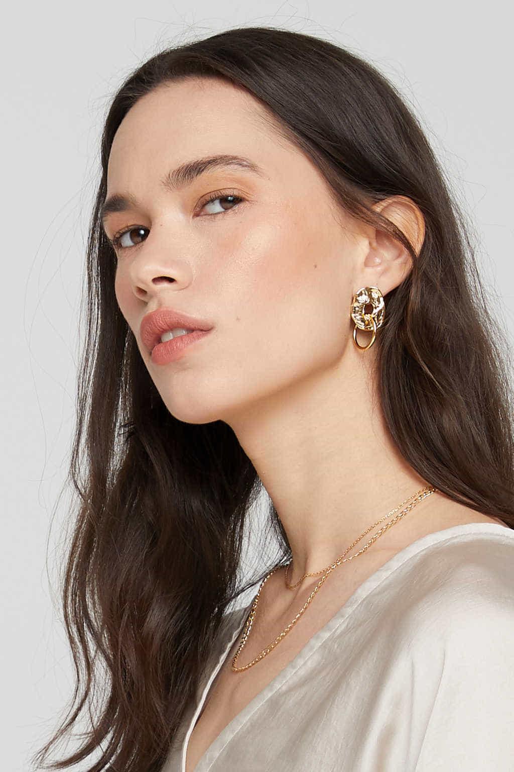 Earring J032 Gold 1