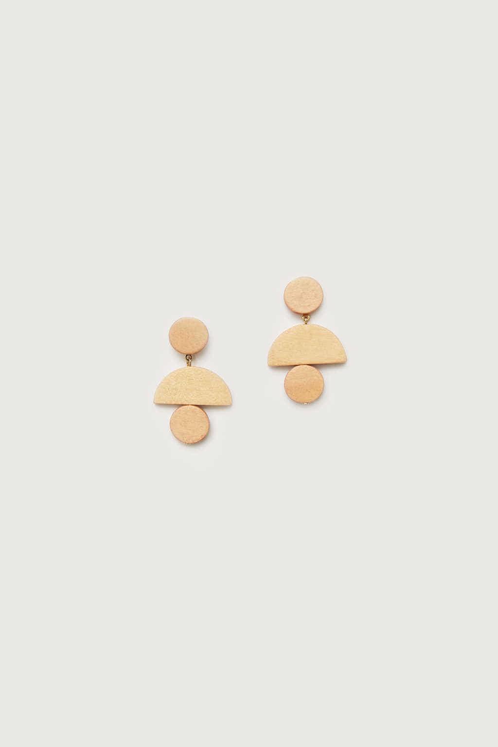 Earring K001 Beige 2