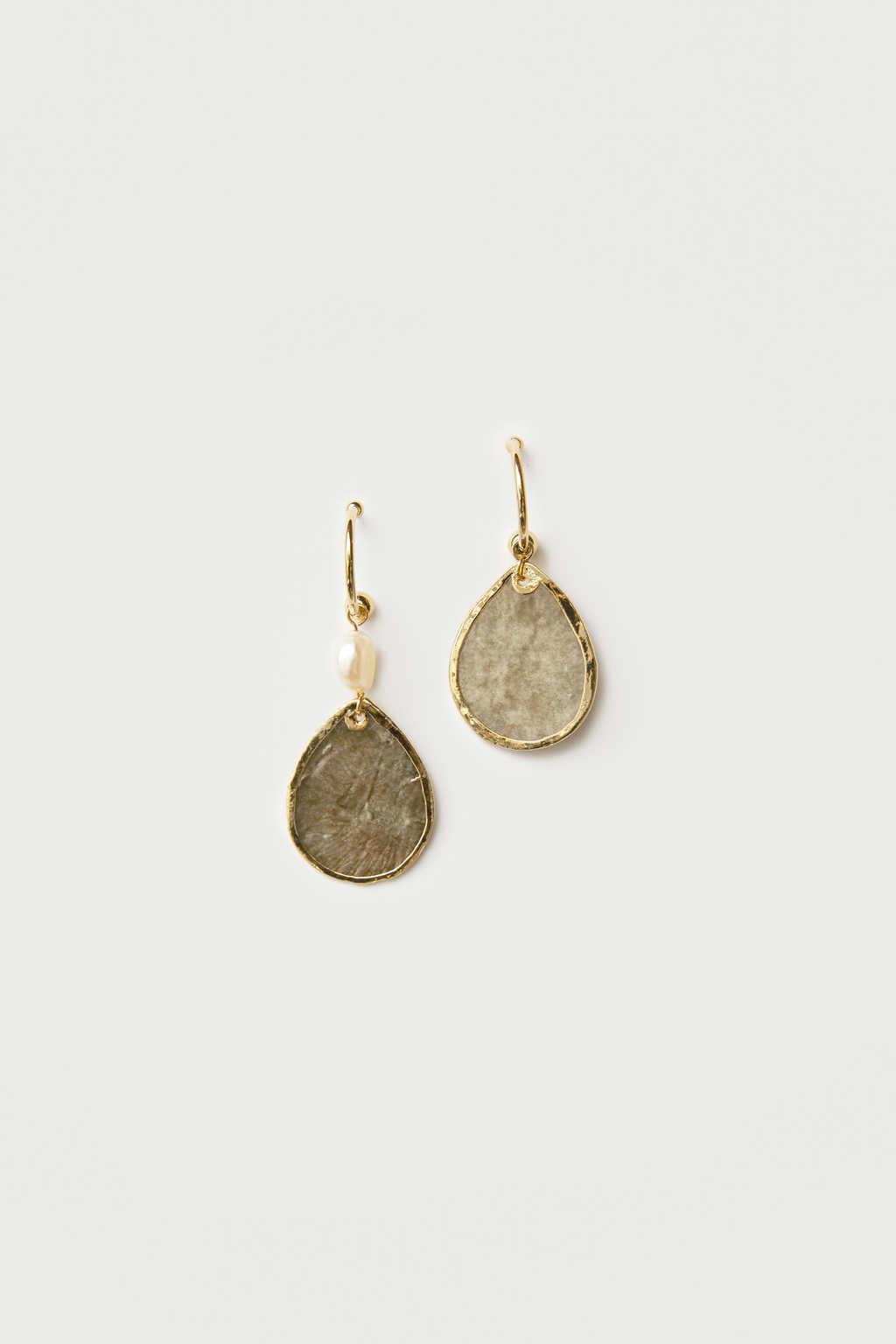 Earring K006 Gray 3