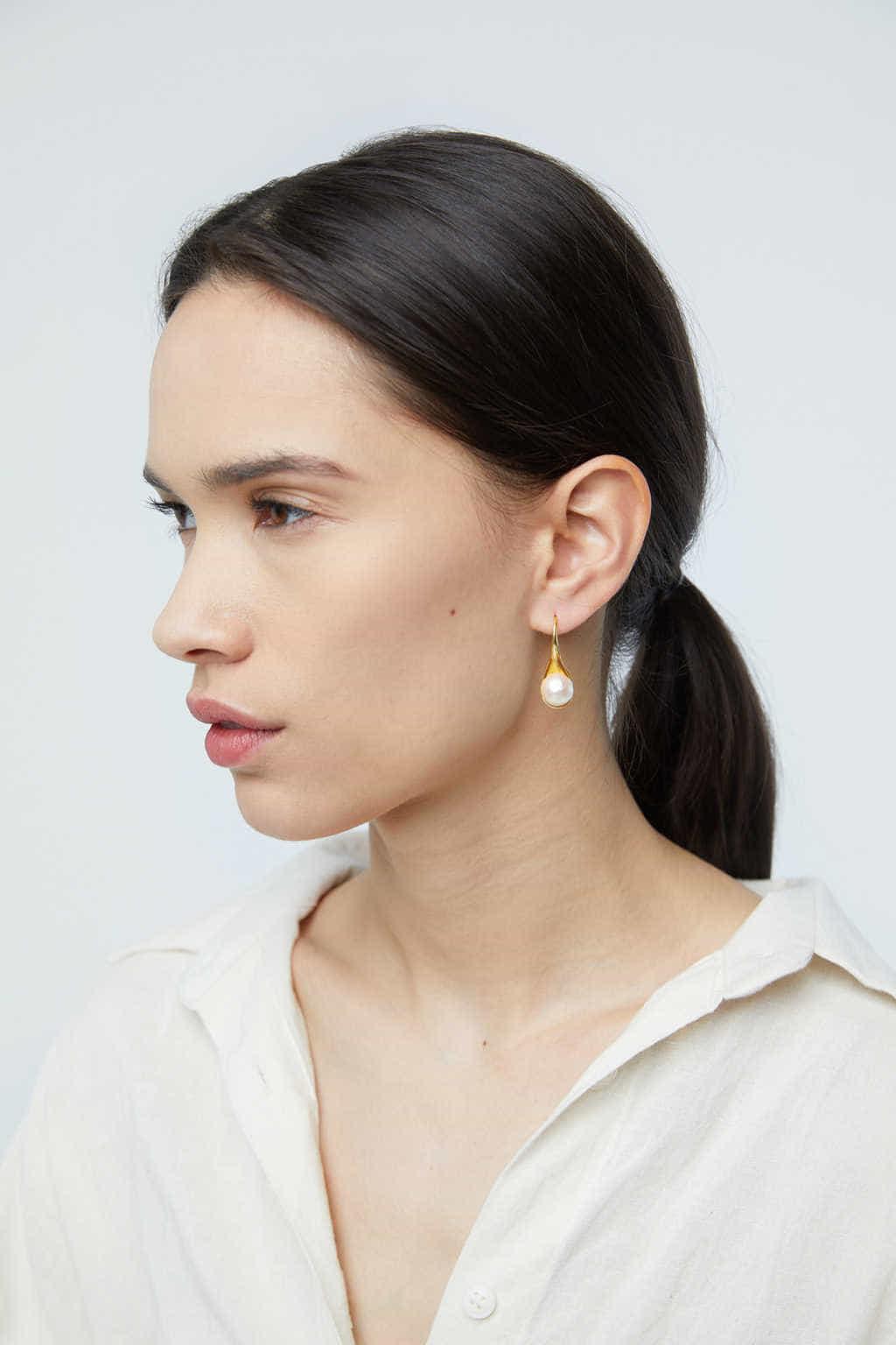 Earring K008 Gold 2