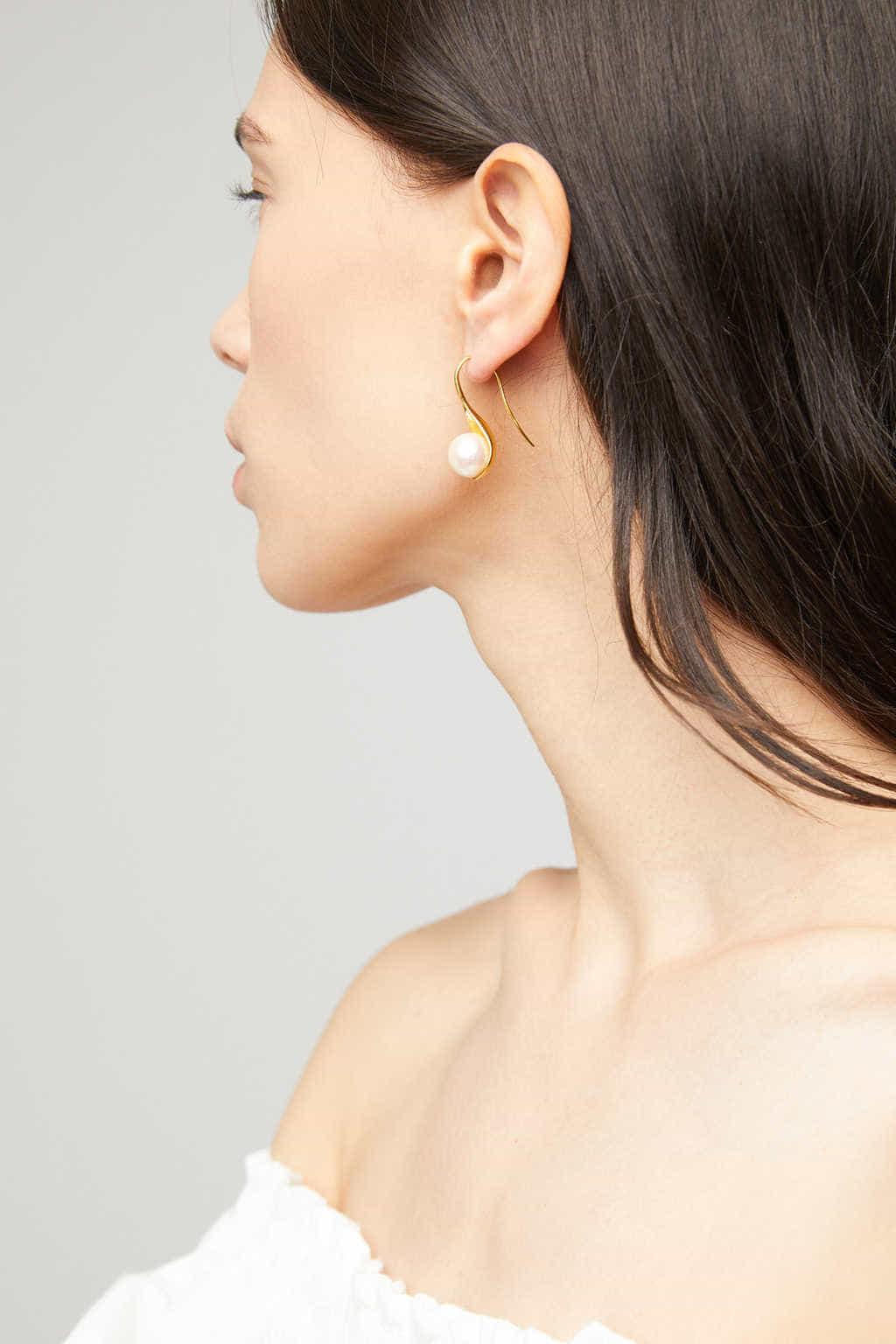 Earring K008 Gold 3