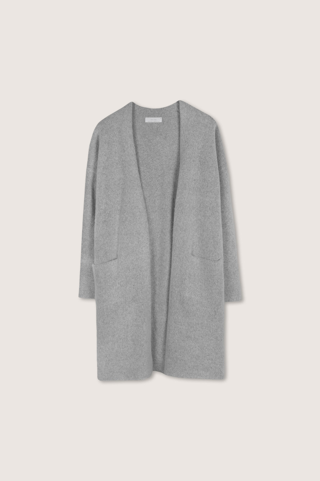 Feather Cardigan 1550 Gray 5
