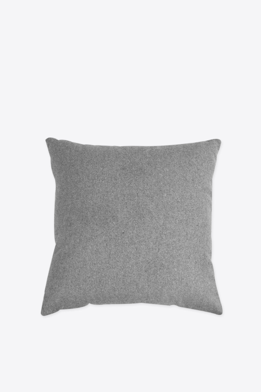 Felt Throw Pillow 2336 Light Gray 4