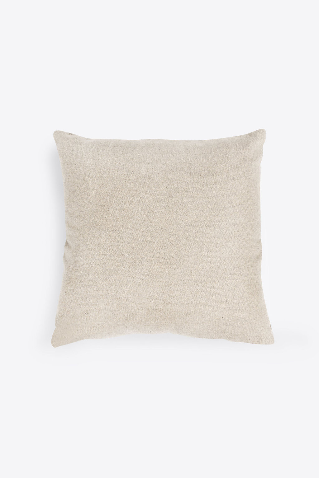 Felt Throw Pillow 2336 Oatmeal 3
