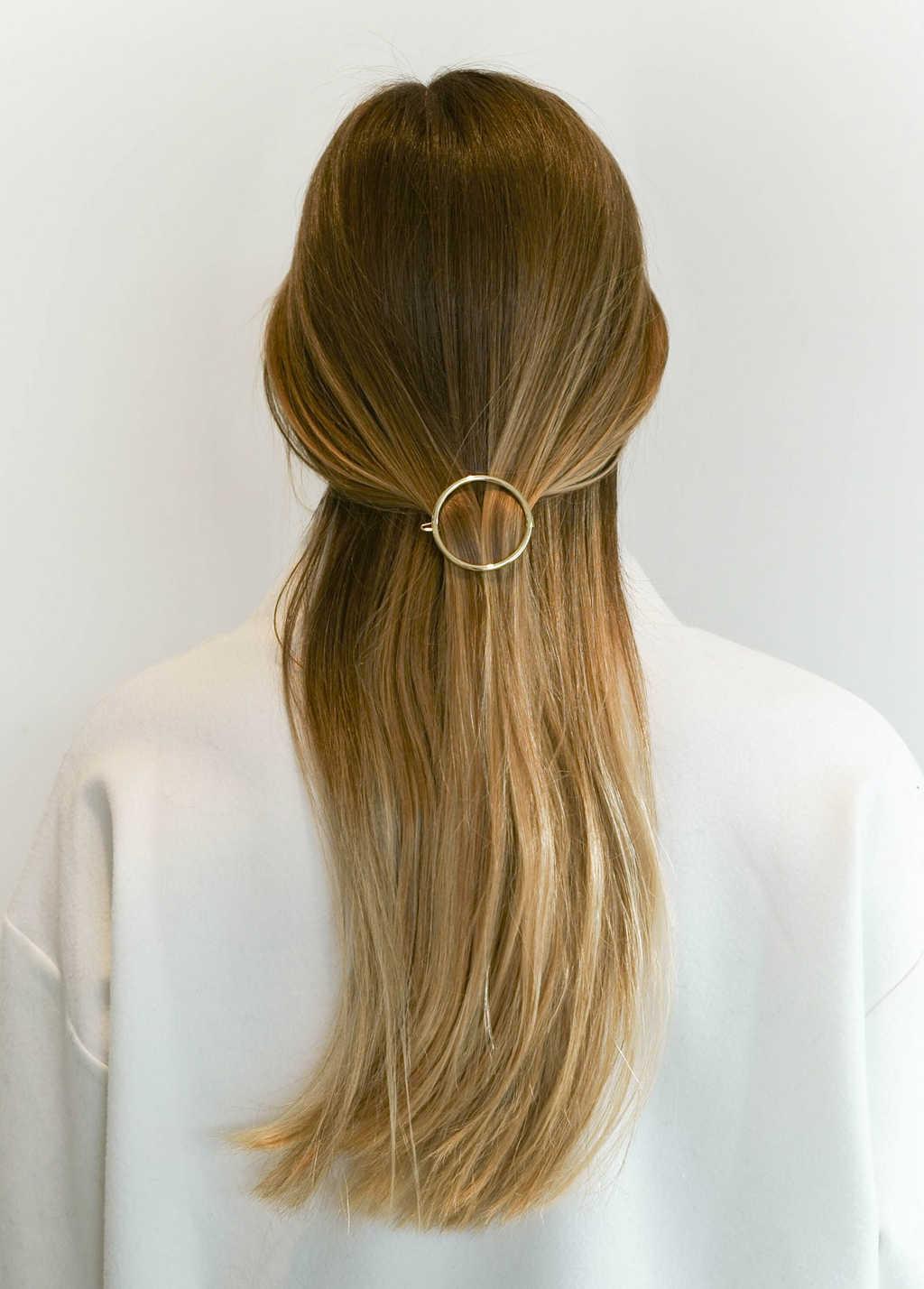 Hair Clip 2227 Gold 3