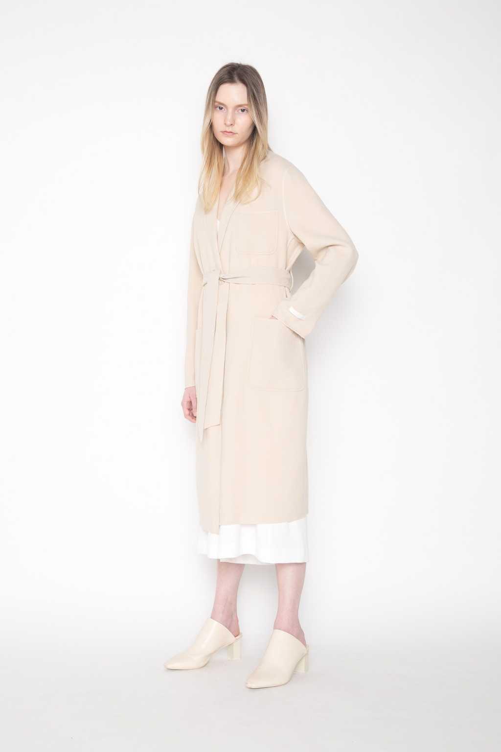 Handmade Coat H032 Beige 3