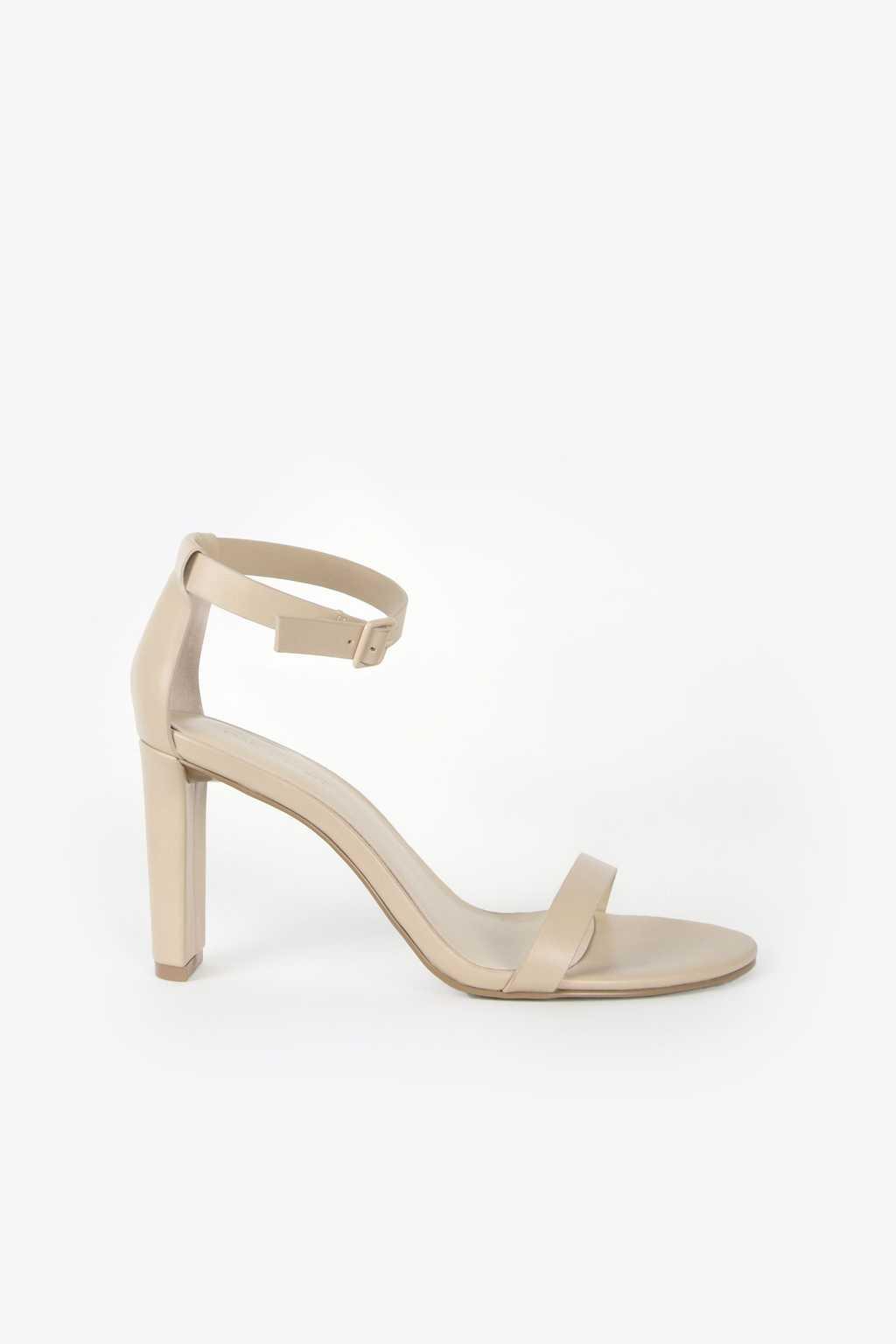 Heeled Sandal 1277 Beige 1