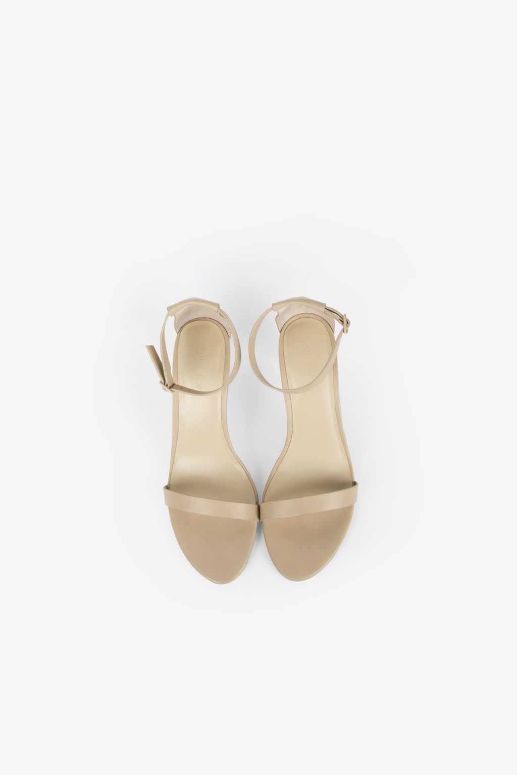 Heeled Sandal 1277 Beige 2