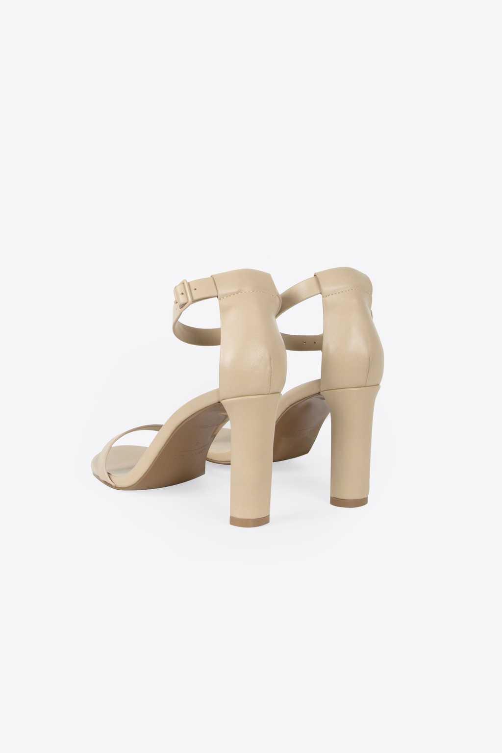 Heeled Sandal 1277 Beige 3