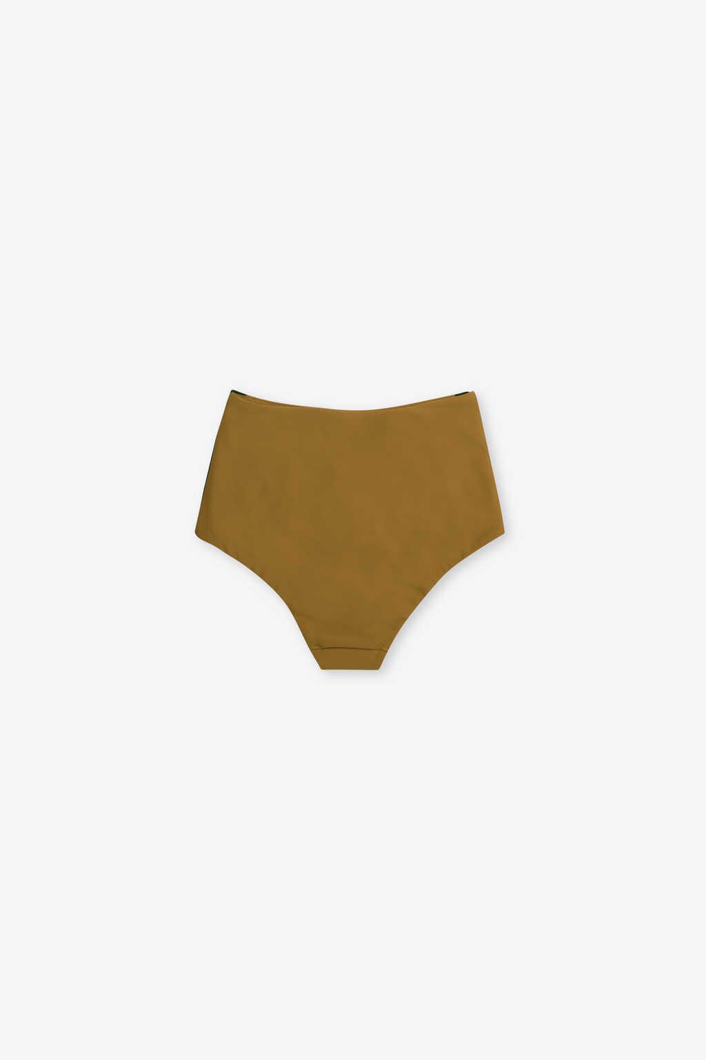 High Waist Bikini Bottom 2205 Olive 5