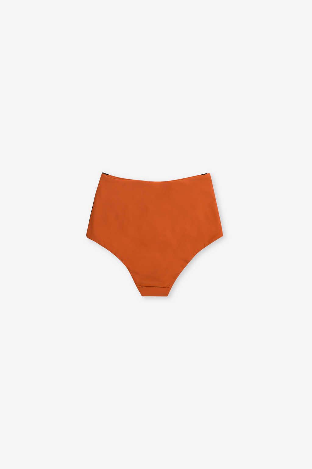 High Waist Bikini Bottom 2205 Orange 7