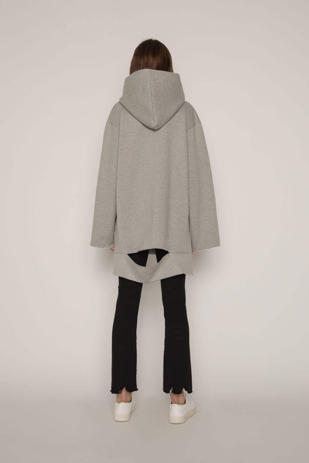 Hooded Tunic G013 Gray 4