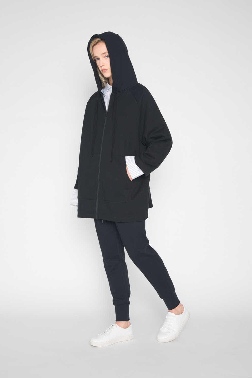 Hoodie 1432 Black 3