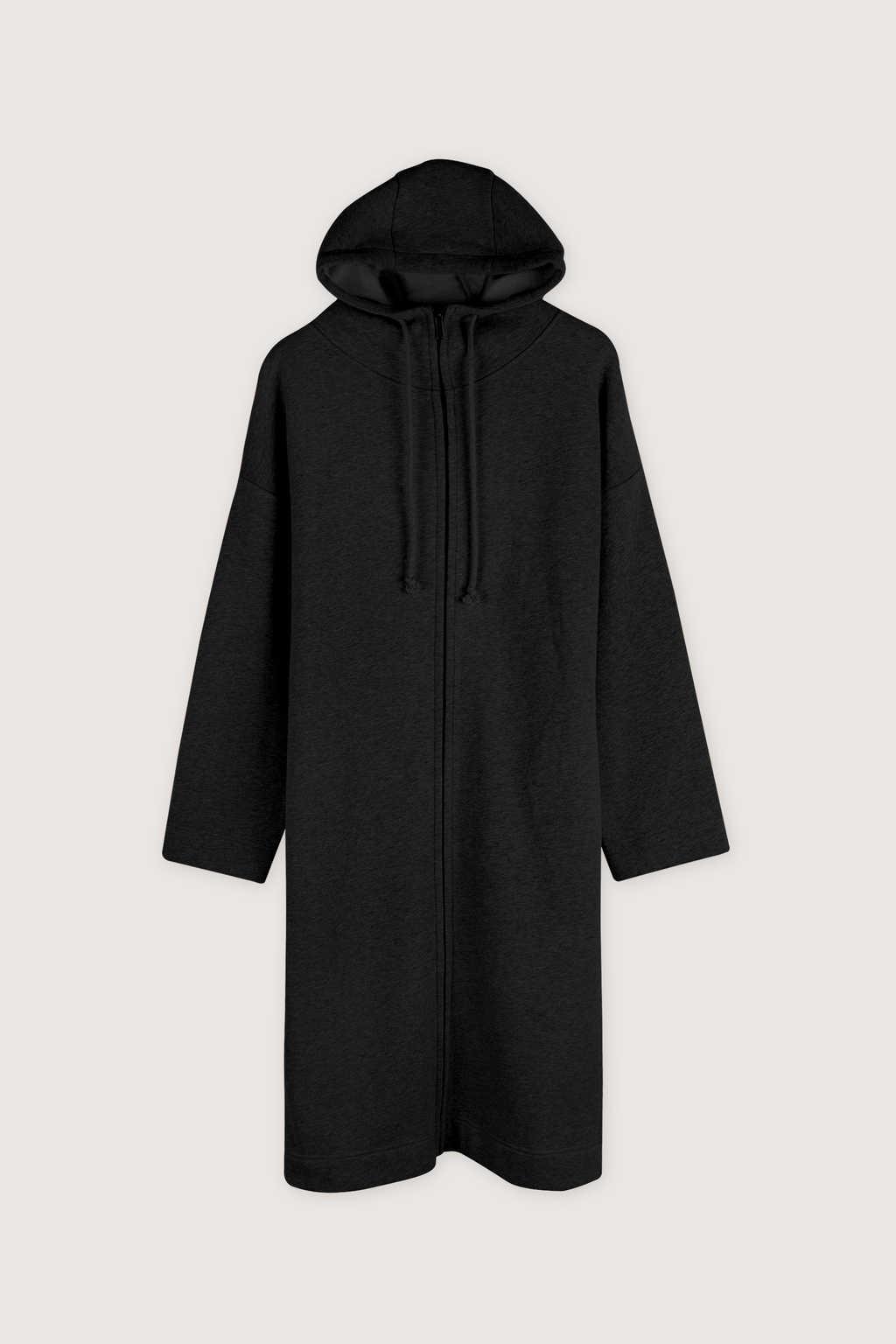 Hoodie Dress 1659 Black 12