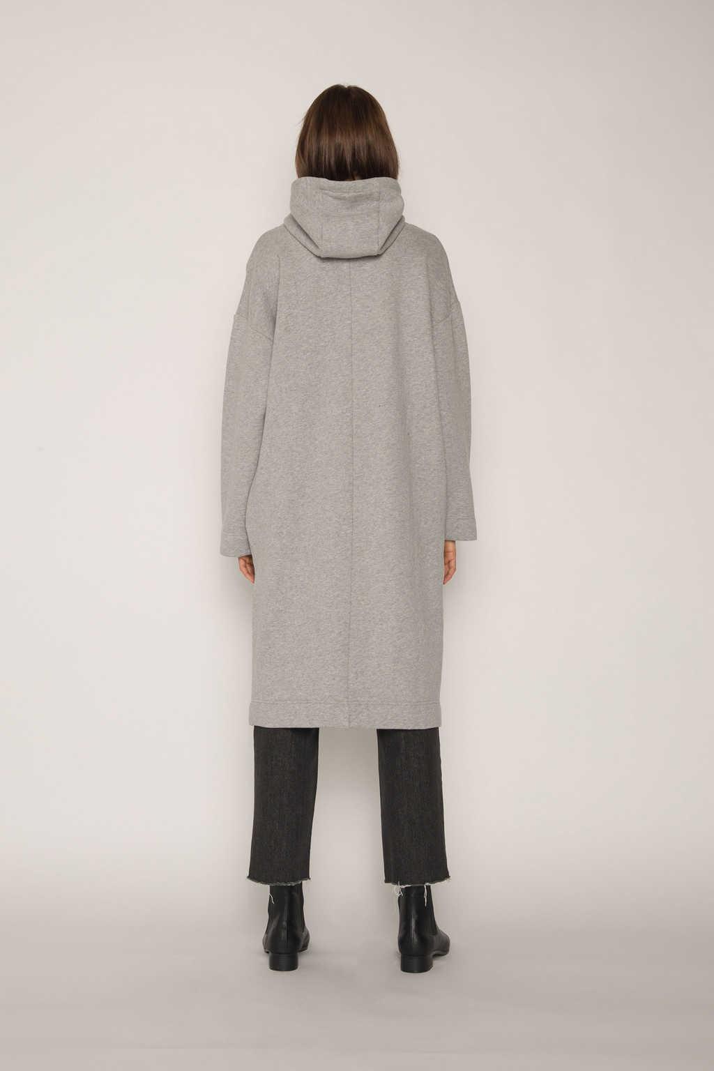 Hoodie Dress 1659 Gray 6