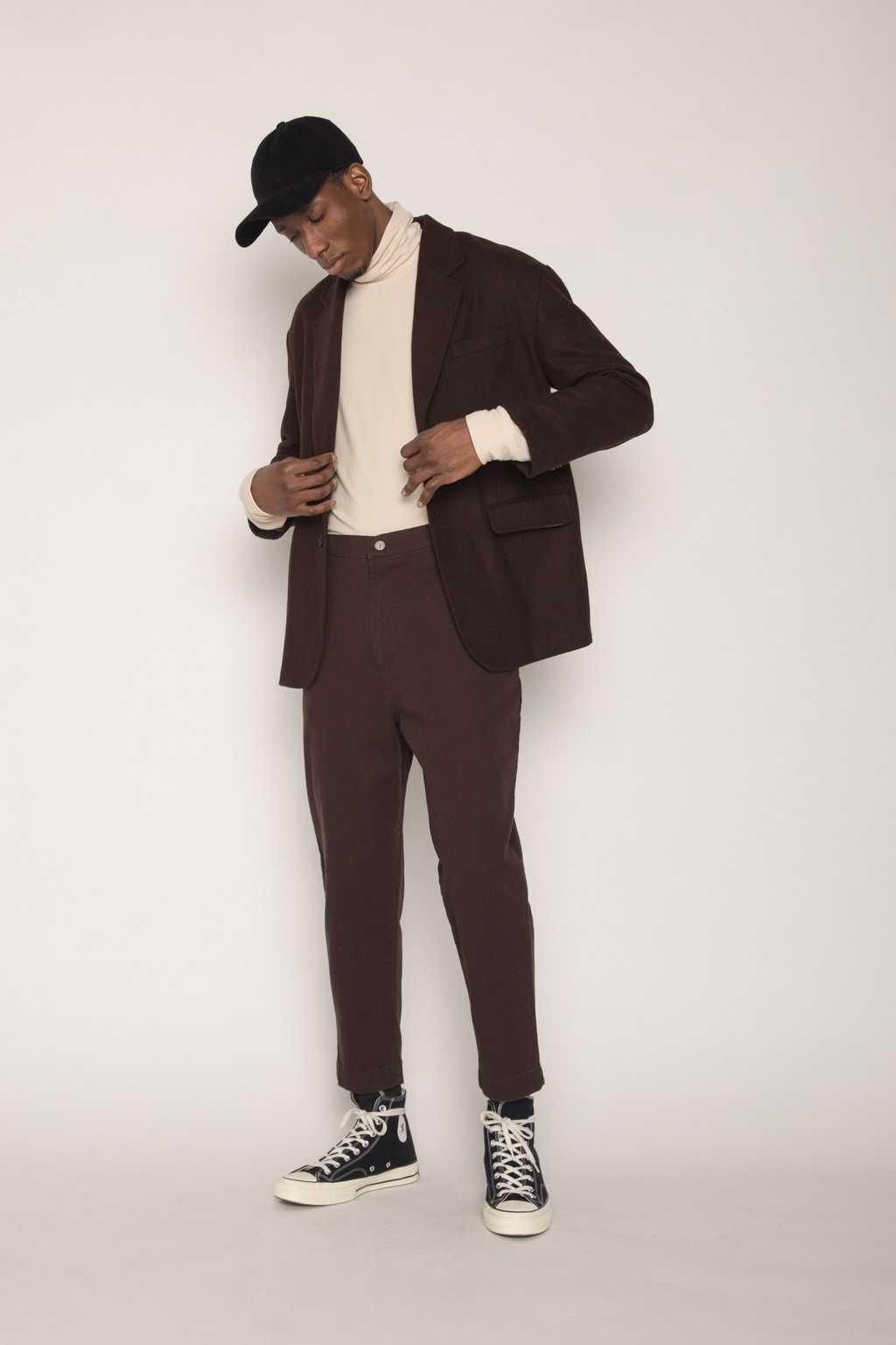 Jacket H023 Brown 1