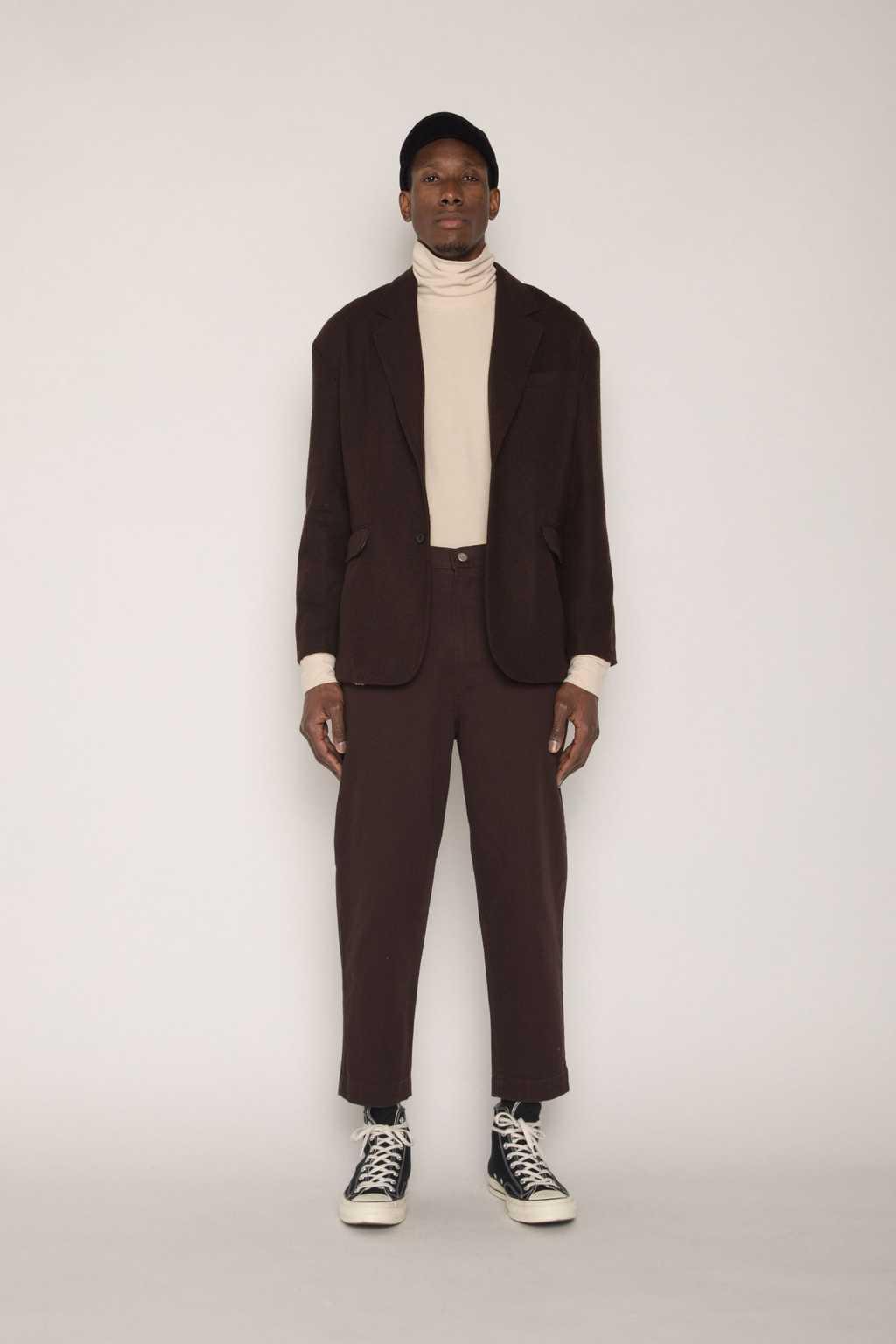 Jacket H023 Brown 2