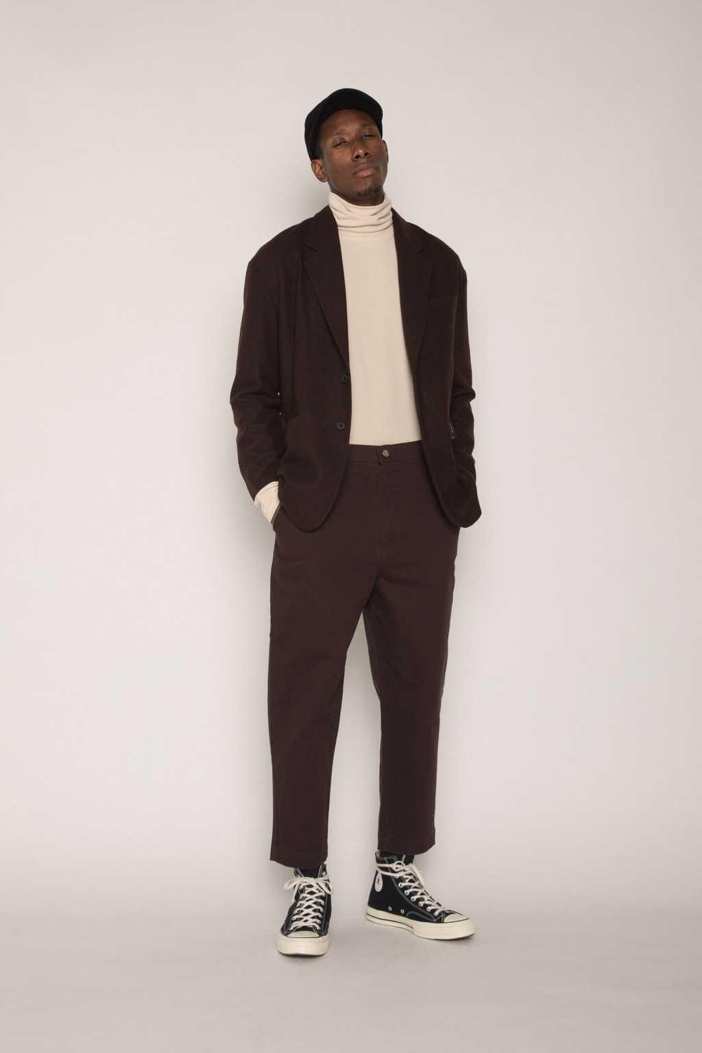 Jacket H023 Brown 3