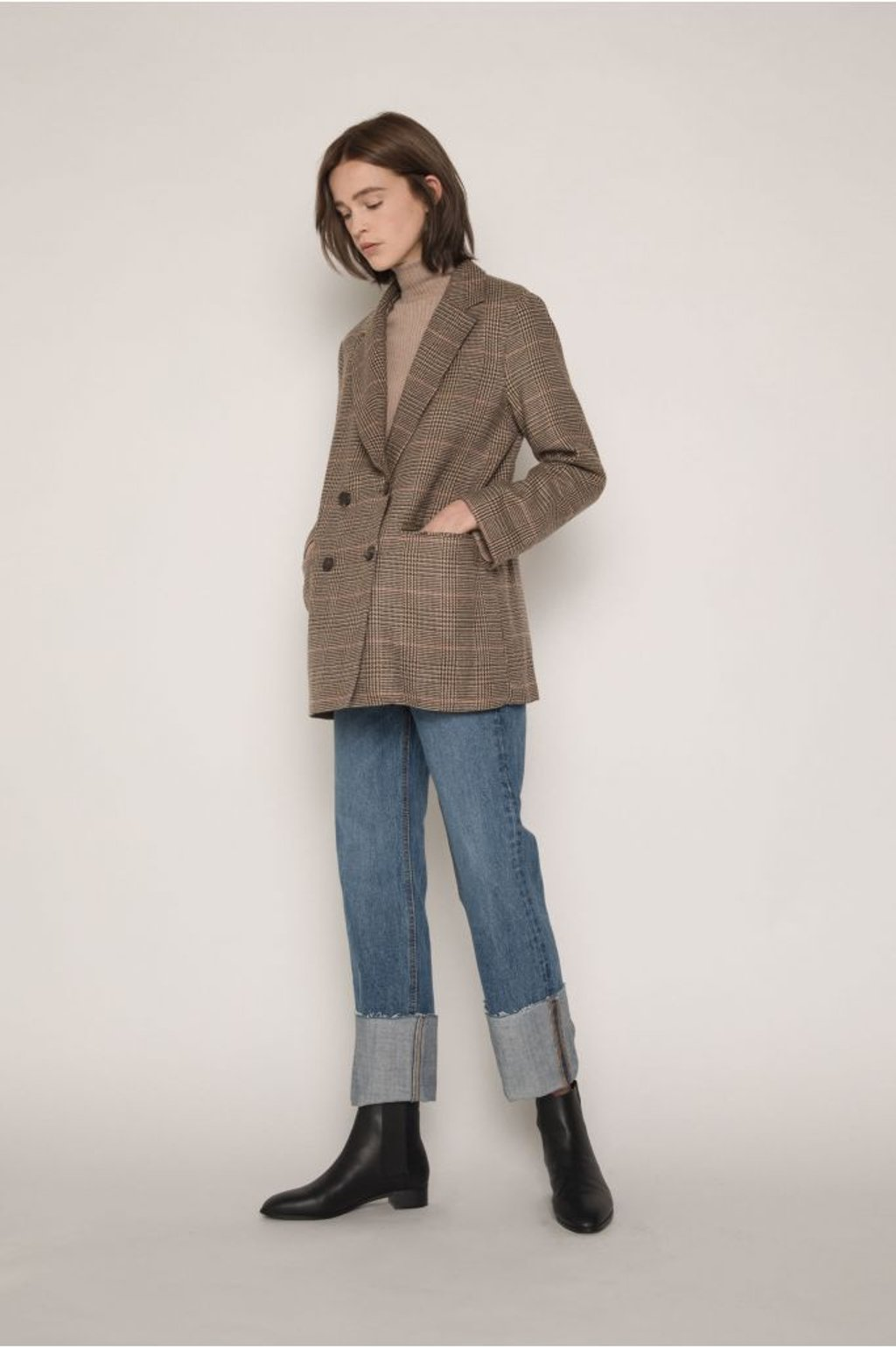 Jacket H136 Brown 3