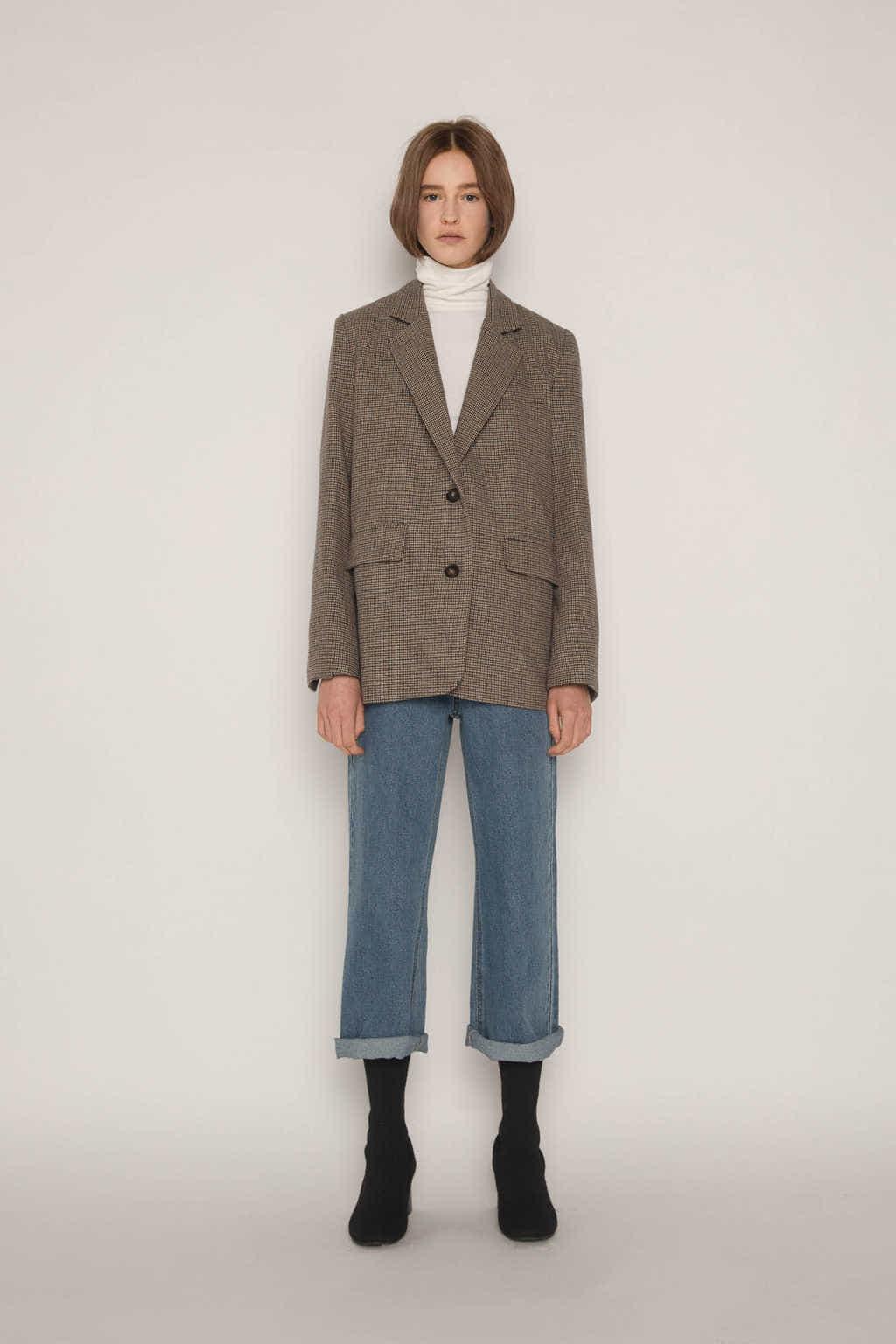 Jacket H157 Beige 1