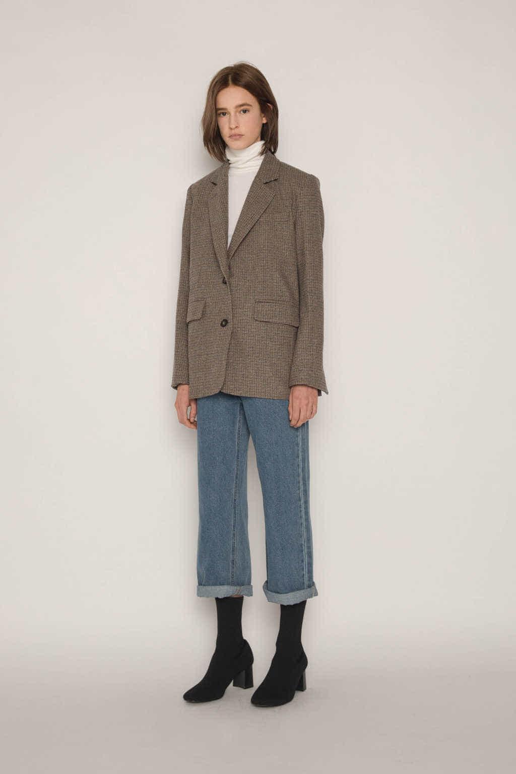 Jacket H157 Beige 2