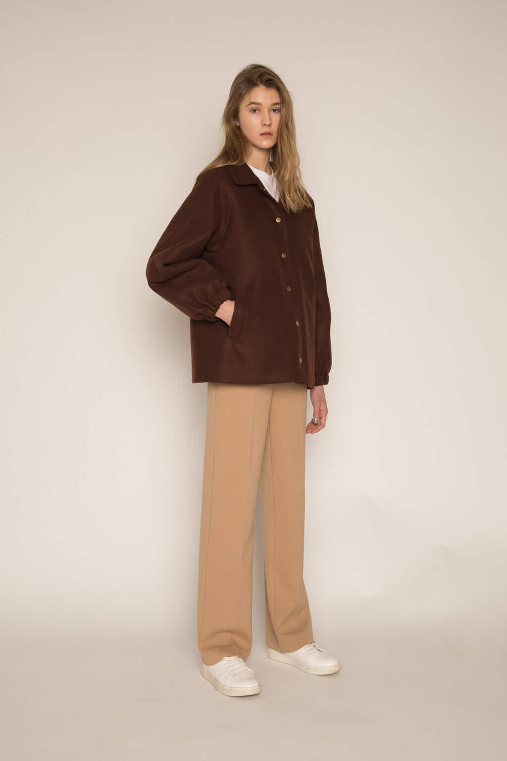 Jacket H203 Brown 2