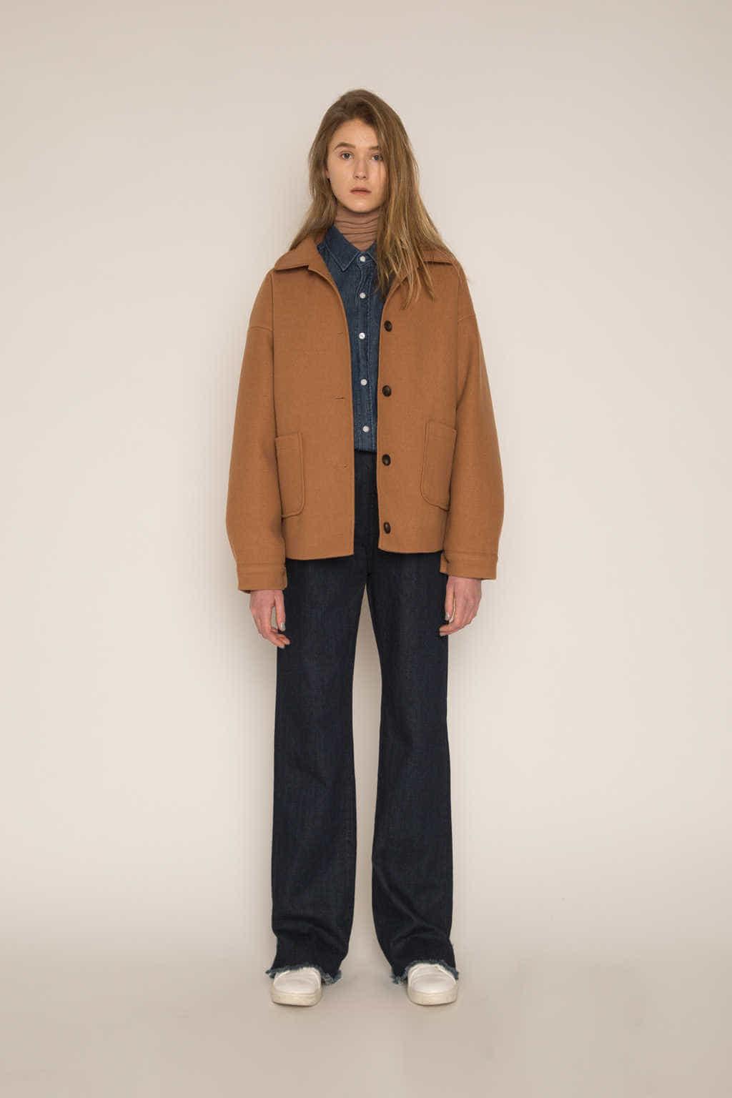 Jacket H204 Beige 1