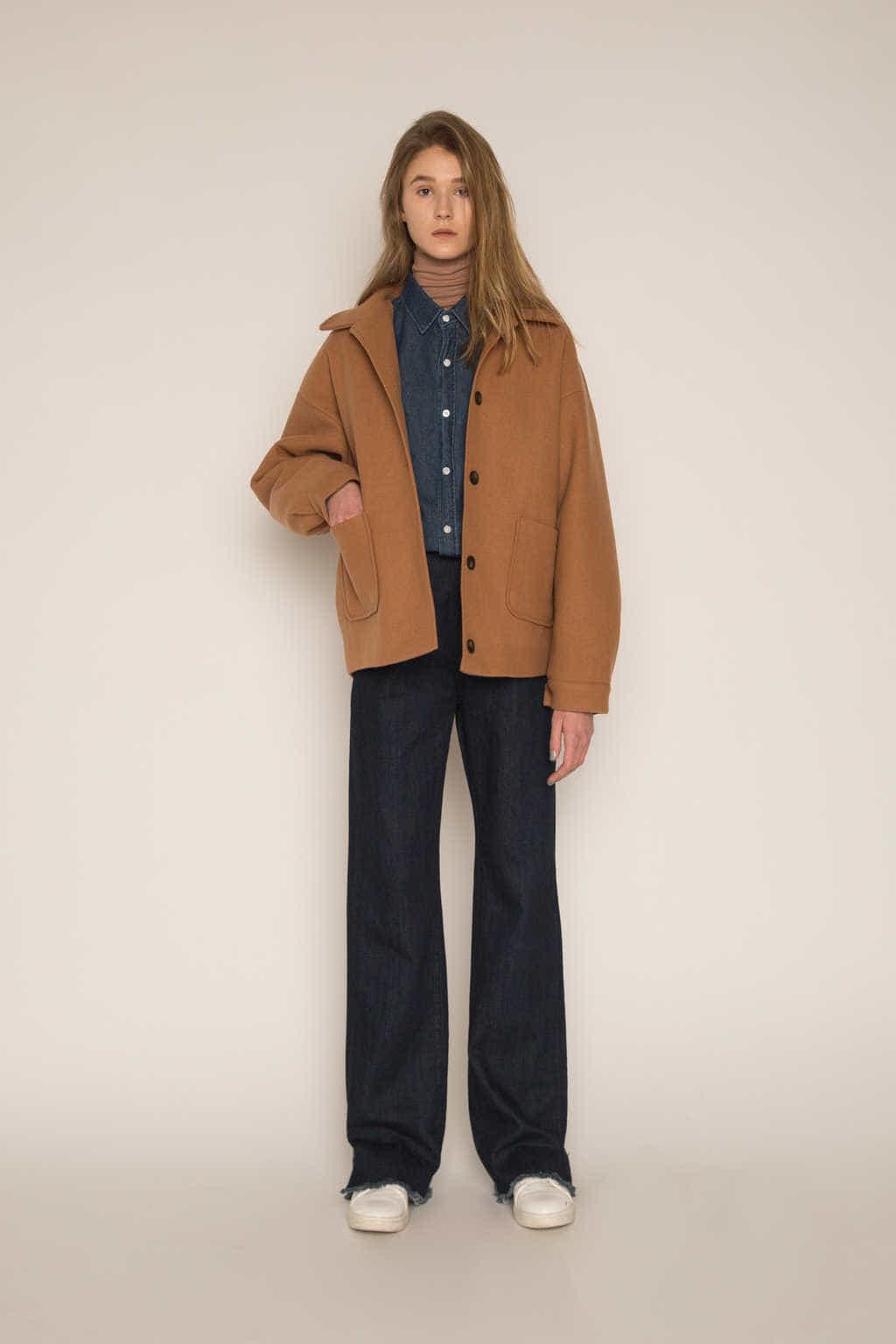 Jacket H204 Beige 2