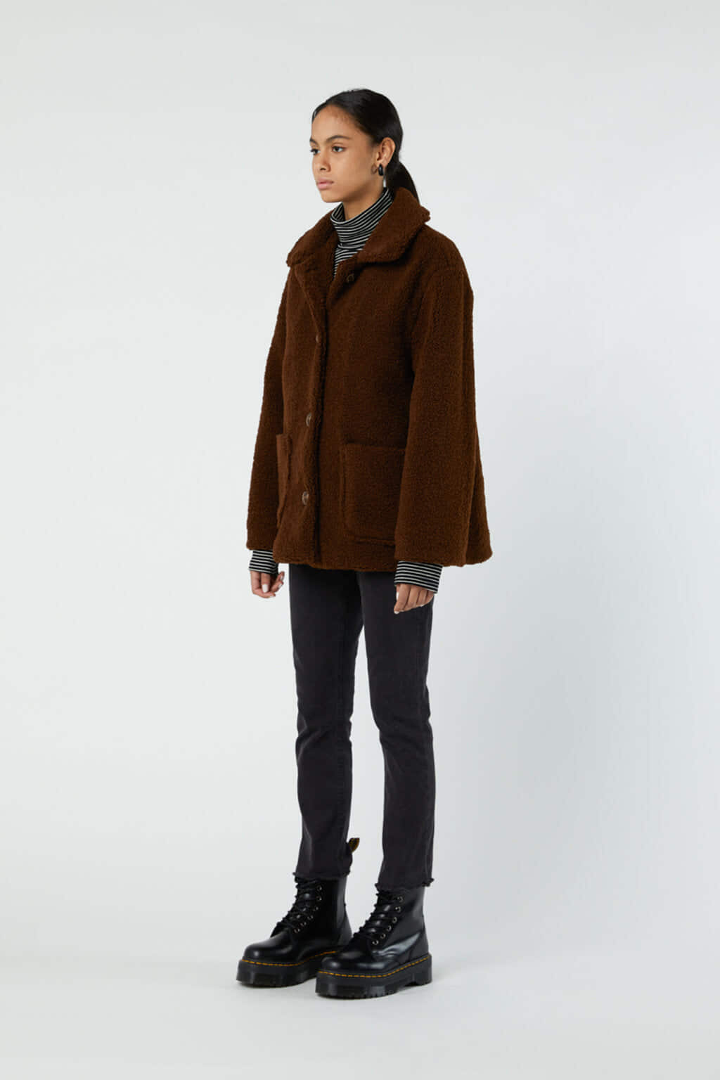 Jacket J001K Brown 2