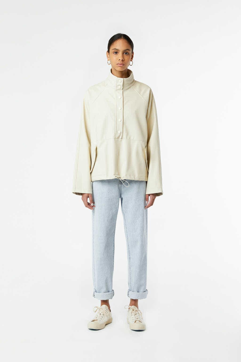 Jacket J001 Cream 2