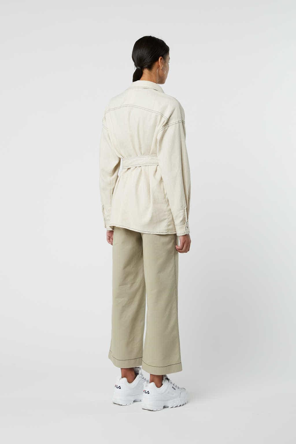 Jacket J001 White 4
