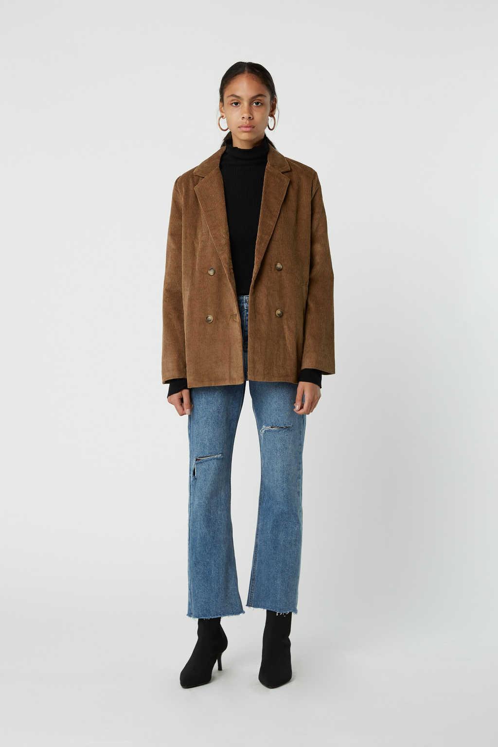Jacket J005 Brown 1