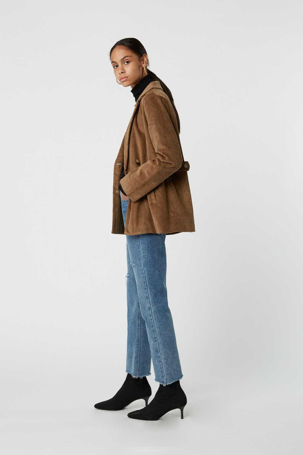Jacket J005 Brown 3