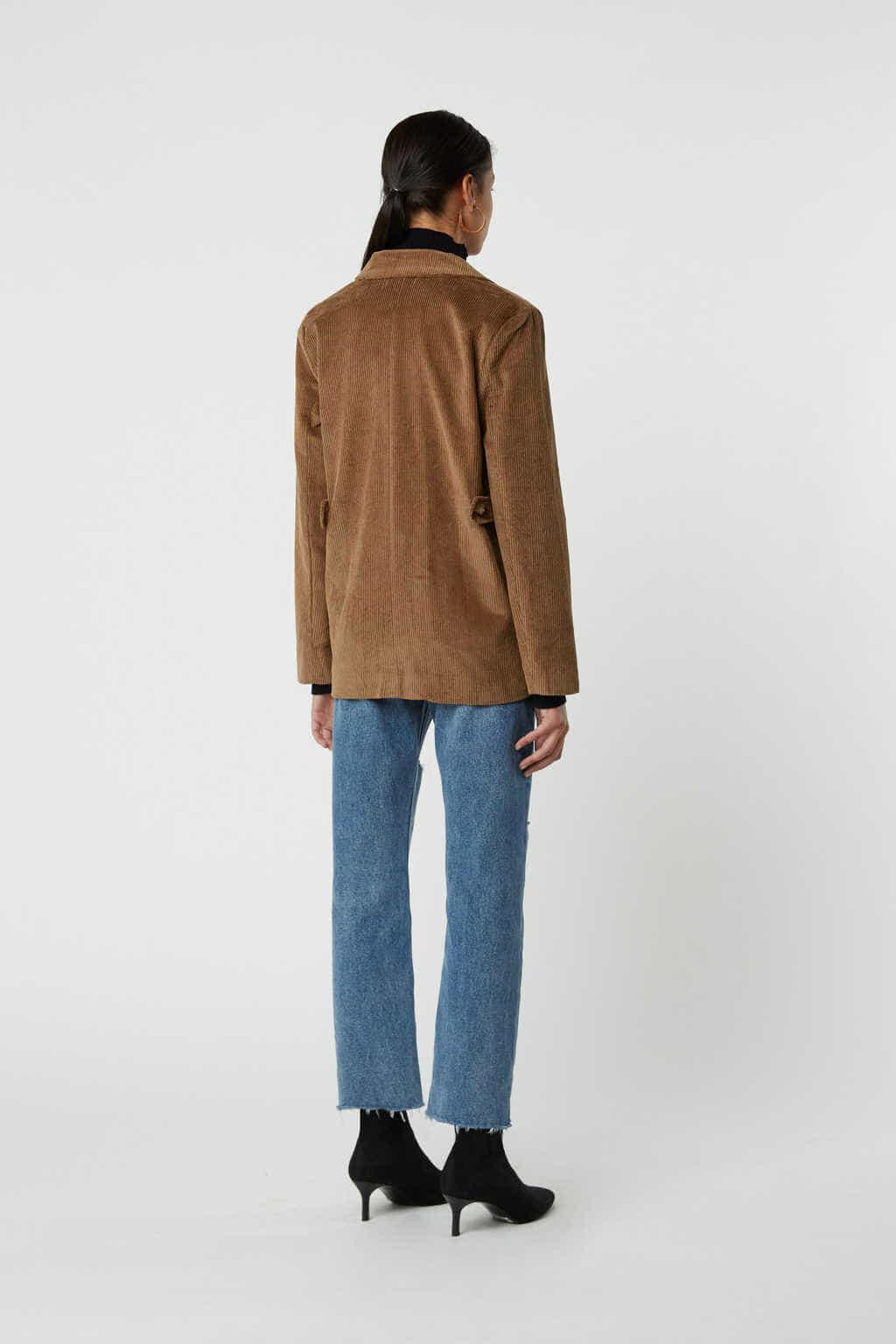Jacket J005 Brown 4