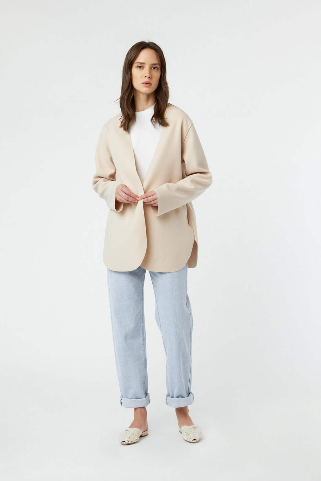 Jacket J009 Cream 2