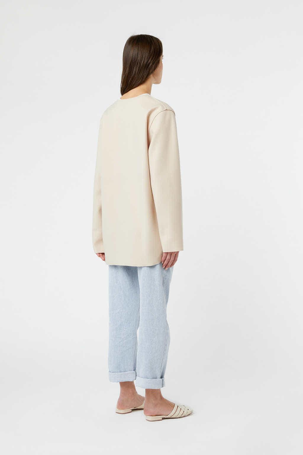 Jacket J009 Cream 4