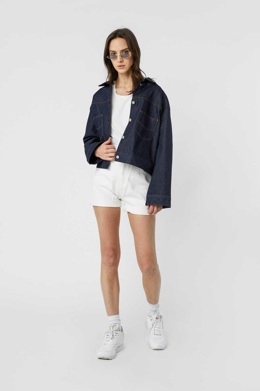 Jacket J010 Indigo 1