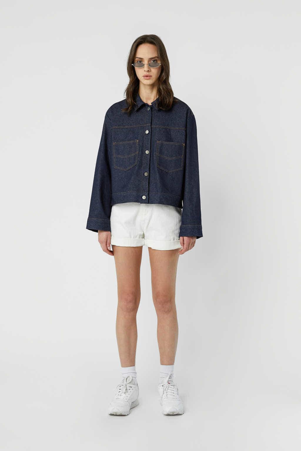Jacket J010 Indigo 2