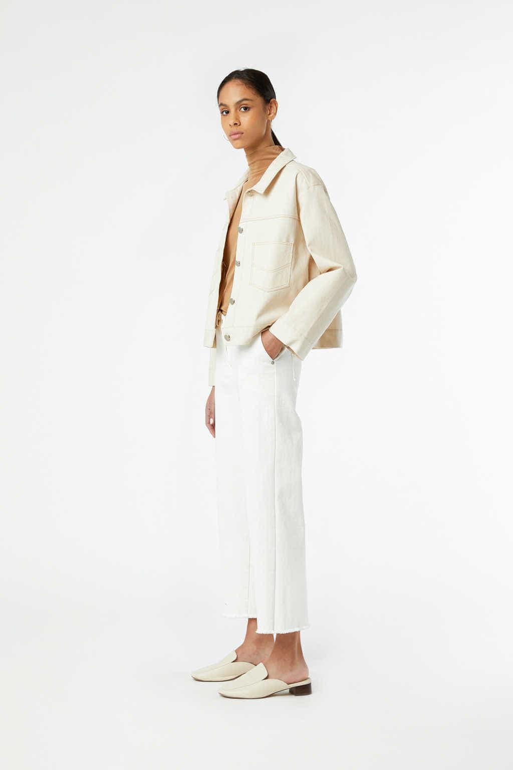 Jacket J011 Cream 1