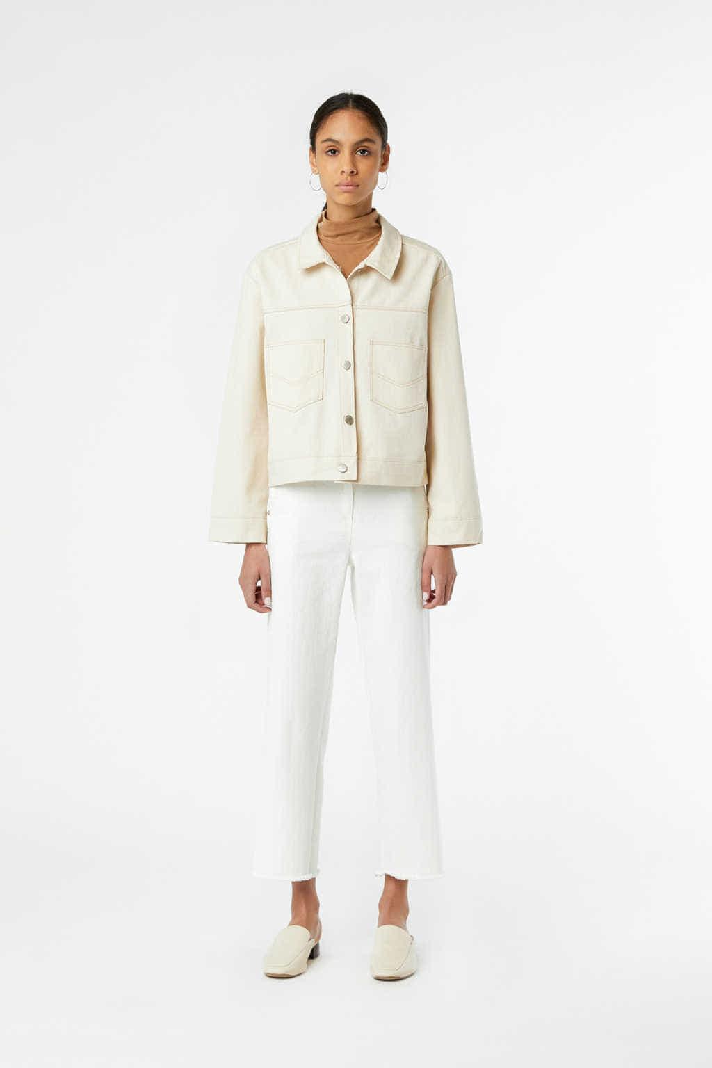 Jacket J011 Cream 2