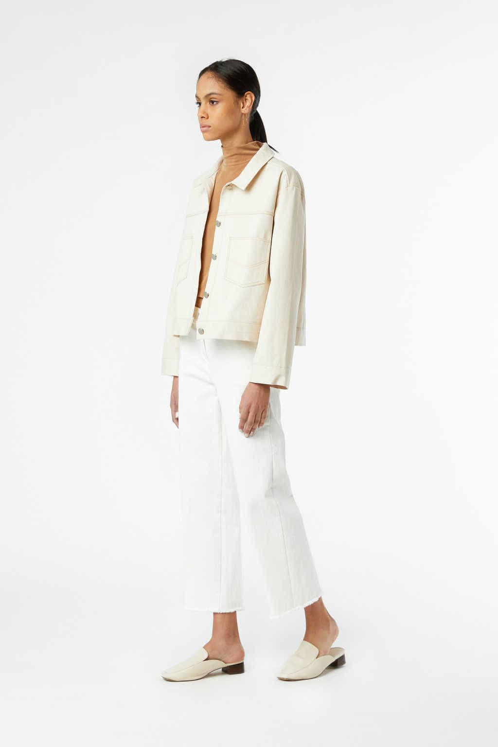 Jacket J011 Cream 3