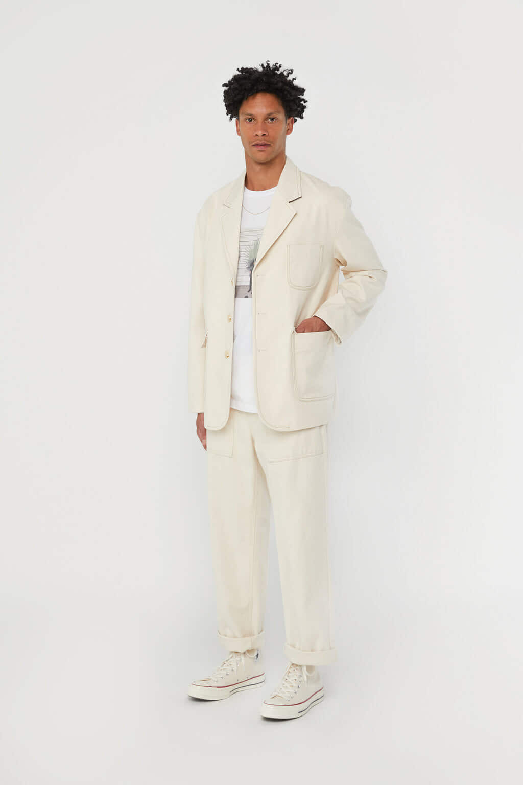 Jacket K002 Cream 2